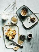 不規則陶瓷梯形盤魚盤北歐早餐盤西餐盤牛排盤壽司盤平盤淺盤 享購