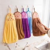 擦手巾 擦手巾掛式可愛衛生間吸水抹手布毛巾韓國神器廚房用品北歐搽手帕