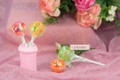 一定要幸福哦~~300g彩虹水果棒棒糖、送客喜糖、喜糖盒