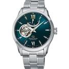 ORIENT 東方錶 鏤空 機械錶 男錶 (RE-AT0002E) 深綠/39.3mm