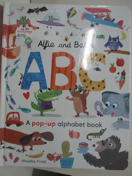 【書寶二手書T6/少年童書_EHD】Alfie and Bet s ABC_Patricia Hegarty