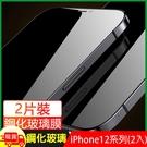 超值蘋果iPhone 12/12 Pro/12 Pro Max/12mini 鋼化玻璃(2片裝)
