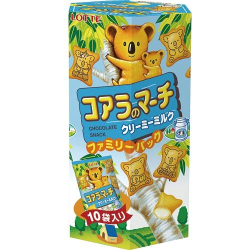 樂天小熊牛奶家庭號餅乾195g【愛買】