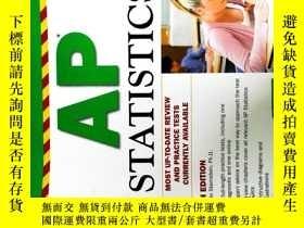 二手書博民逛書店Barron s罕見AP Statistics, 7th Edi