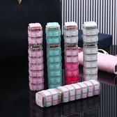 香水分裝瓶便攜式香水瓶空瓶噴隨身高檔迷你玻璃鑲鑽細霧噴霧瓶