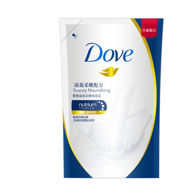 DOVE 多芬滋養柔膚沐浴乳 - 滋養柔嫩配方補充包 650g_聯合利華