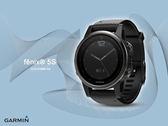 【時間道】GARMIN -預購- fenix® 5S 輕量美型複合式戶外GPS智能腕錶-藍寶石時尚黑 免運費