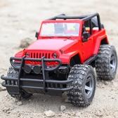 男孩仿真慣性越野車玩具耐摔兒童音樂早教玩具吉普車汽車模型WY