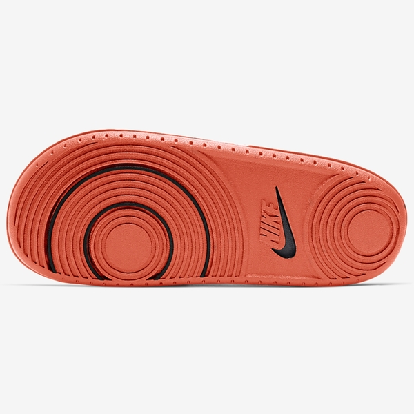 NIKE Offcourt Slide 拖鞋 男鞋 女鞋 軟底 海綿 緩震 白黑橘【運動世界】BQ4639-101
