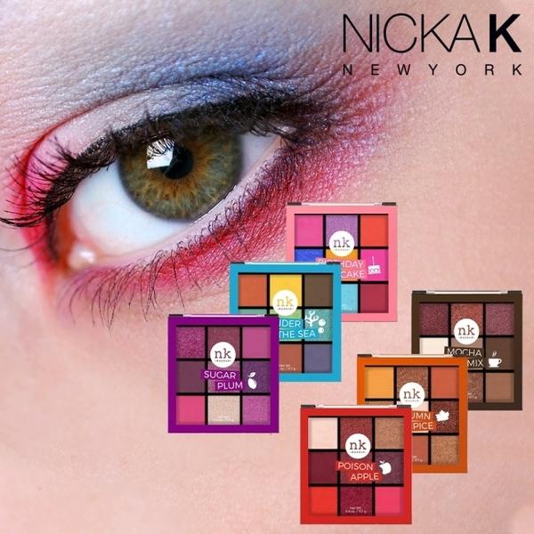 美國Nicka.K 微醺九宮格眼影盤 煙燻摩卡