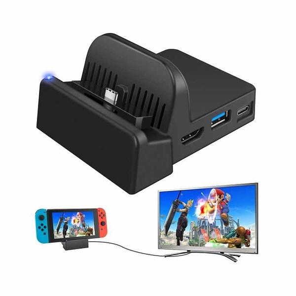 Ponkor 擴展塢 4K HDMI電視適配器 適用Nintendo Switch [2美國直購]