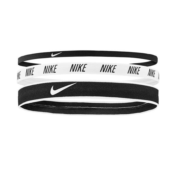 Nike Mixed Width [N0002548930OS] 髮帶 髮束 運動 止滑 造型 3入 黑白