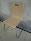 實木椅 肯德基食堂不銹鋼餐椅速食小吃飯店曲木椅學生員工辦公電腦椅