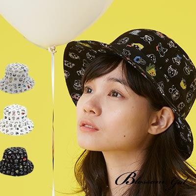 Blossom Gal 搞怪變裝派對純棉漁夫帽(共三色)