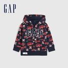 Gap男幼童 Logo童趣印花連帽外套 619743-消防車圖案