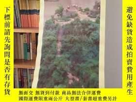 二手書博民逛書店罕見長江三峽觀景臺畫一張、一版一印Y206628 牛嵩林攝 天津
