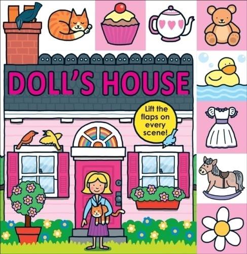 Lift-The-Flap Tab:Doll's House 娃娃屋翻翻書(英國版)