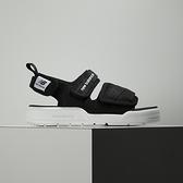 New Balance 黑 魔鬼氈 休閒 涼拖鞋 SDL3206B