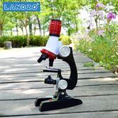 顯微鏡兒童高倍微生物科普玩具1200倍實驗玩具禮物【交換禮物特惠】