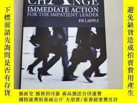 二手書博民逛書店RAPID罕見CHANGE:IMMEDIATE ACTION FOR THE IMPATIENT LEADER[快