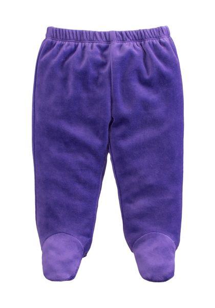 童裝 現貨 保暖天鵝絨寶寶包腳褲-02款深紫色【84079】