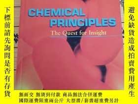 二手書博民逛書店Chemical罕見Principles: The Quest for Insight(原版書.彩印)Y123