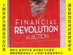 二手書博民逛書店Financial罕見revolution in Action