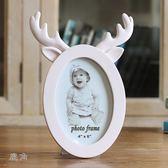 創意相框6寸可愛卡通 兔耳貓耳鹿角創意相框 擺臺家居擺件 寶寶相框 zh1153【優品良鋪】