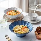 日式拉面碗陶瓷單個吃面條大碗湯碗斗笠碗沙拉碗【櫻田川島】