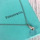 BRAND楓月 TIFFANY&CO. 蒂芬妮 925純銀 水滴 淚滴 鍊條 項鍊 墜鍊 首飾 配件 配飾