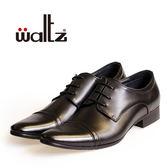 Waltz-簡約設計感紳士德比鞋612026-02(黑)