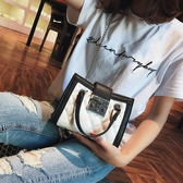 限定款手提包-正韓菱格鍊條包女新品免運潮少女斜背包正韓百搭側背包新品小包包