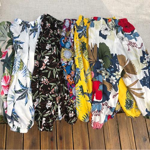兒童防蚊褲 夏季薄款寬鬆束腳防曬防蚊褲