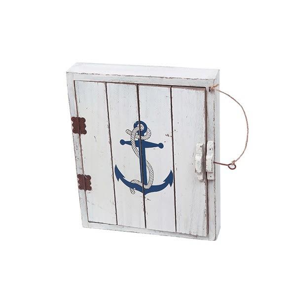 【西班牙BATELA】實用木質船錨鑰匙盒 (擺飾/ 家居用品/ 送禮首選)