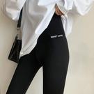 鯊魚皮打底褲女外穿春薄款高腰收腹提臀芭比褲彈力緊身瘦腿瑜伽褲