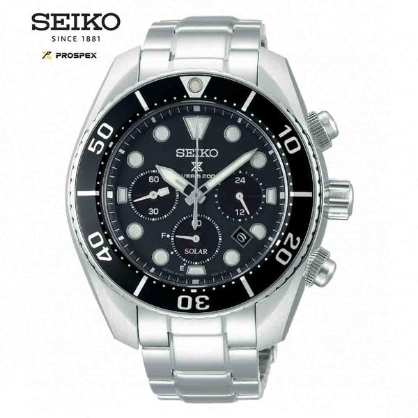 SEIKO 精工 PROSPEX 新款 SUMO太陽能潛水腕錶 (V192-0AD0D / SSC757J1)