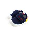 小男生鞋 休閒鞋 布鞋 童鞋 魔鬼氈 深藍色 中童 B707 no142
