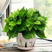 綠蘿仿真綠植套裝仿真花草植物家居客廳裝飾盆栽擺設辦公室擺件  igo 居家物語