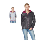 【SAMLIX 山力士】女 美國PRIMALOFT超輕暖保溫棉休閒外套(#36915灰色.黑色)