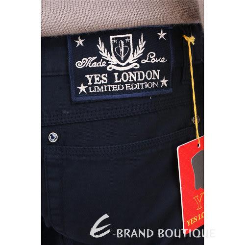 YES LONDON 休閒直筒長褲(深藍色) 0820073-34