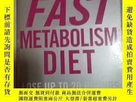 二手書博民逛書店THE罕見FAST METABOLISM DIETY17747