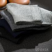 襪子男士長襪短筒中筒襪黑色防臭吸汗短襪黑純棉運動男襪四季 探索先鋒