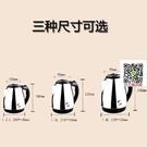 旅行出國美國日本110V伏1.2L1.8L電熱水壺304不銹鋼快燒壺電茶壺