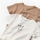 女童短袖上衣 訂製款抗菌面料 兒童竹纖維T恤男女童薄款短袖中小童-Ballet朵朵