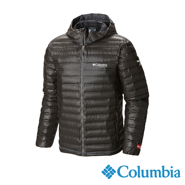 Columbia 男 鈦OD防水700F羽絨外套-黑色 UWE11120BK【GO WILD】