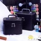 化妝包化妝箱大容量韓版專業手提便攜可愛化妝品收納包旅行洗漱包 小艾時尚.NMS