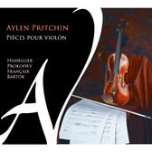 【停看聽音響唱片】【CD】小提琴無伴奏小品集:艾倫.普利欽 小提琴