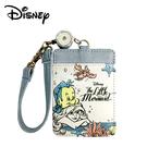 【日本正版】小美人魚 皮質 彈力 票卡夾 票夾 證件套 悠遊卡夾 艾莉兒 Ariel 迪士尼 Disney - 230054