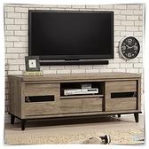 【水晶晶家具/傢俱首選】ZX1343-5伊莎5尺推門電視櫃