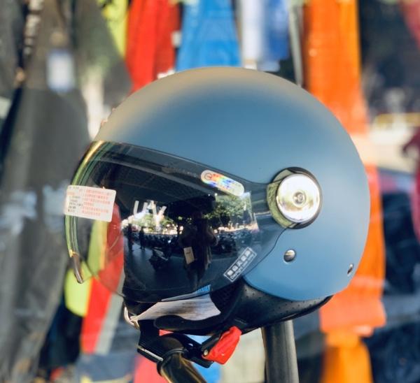 海鳥安全帽,GOGORO安全帽/PN781/消光藍灰